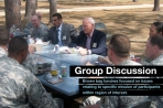 LDESP includes group and faculty panel discussions.