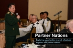 LDESP includes seminars and workshops with militaries and security organizations of partner nations.
