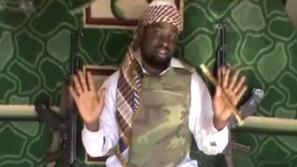 "Boko Haram leader Abubakar Shekau Image source: BBC, ""Who are Nigeria's Boko Haram Islamists?"""