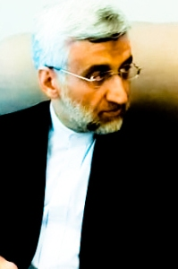 Presidential frontrunner Saeed Jalili Image courtesy of Wikimedia Commons