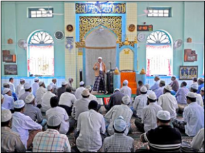 "Mosque in Yangon, Burma Image Source: ""Muslims Targeted During More Violence against Burma's Minority Community,"" The Independent"