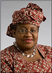 Ngozi Okonjo-Iweala, Nigeria's finance minister Image courtesy of Wikimedia Commons