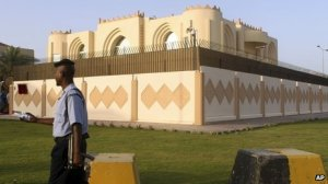 "Taliban Headquarters in Doha, Qatar Image Source: ""How Qatar Came to Host the Taliban,"" BBC"