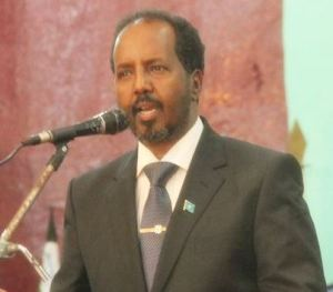 President of Somalia Hassan Sheikh Mohamud Image source: Wikimedia Commons