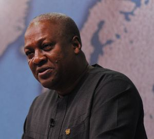 President John Mahama Image Source: Wikimedia Commons