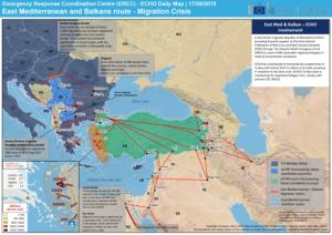 Migration Crisis Mapa
